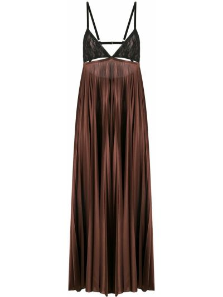 Sukienka koronkowa - czarna Christopher Kane