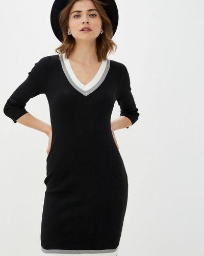 Черное платье-футляр Grafinia