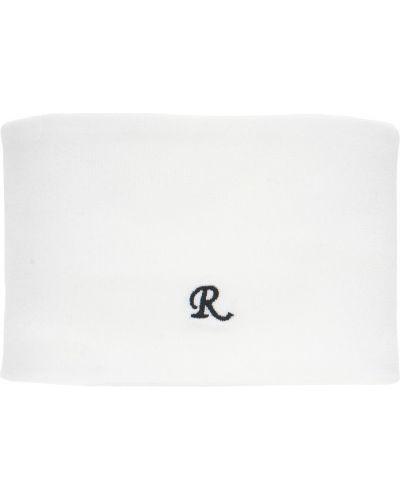 Biały golf z haftem Raf Simons