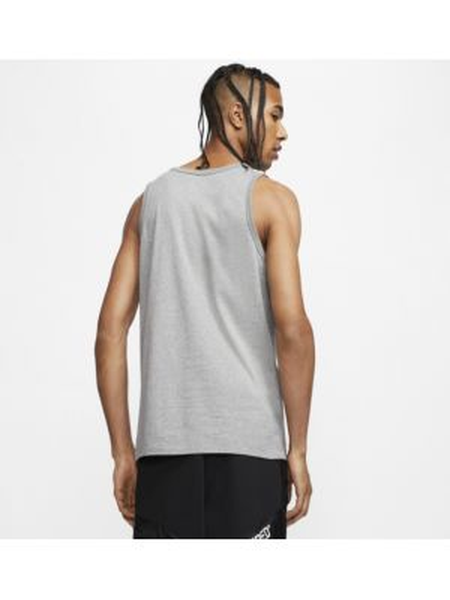 Koszula klasyczna szara bez rękawów Nike