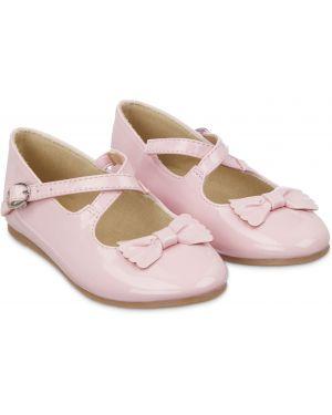 Туфли с бантом лаковые Mothercare