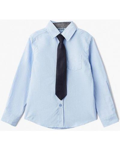 Голубая рубашка Modis