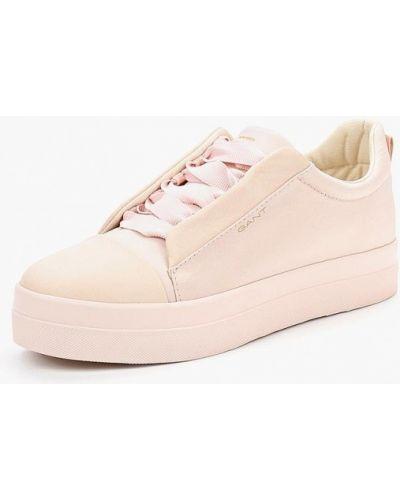 Розовые кеды Gant