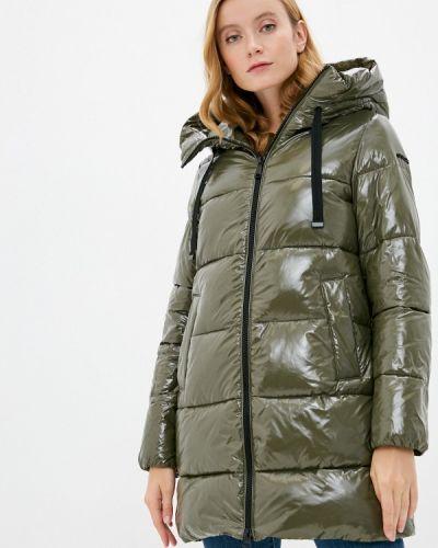Зеленая утепленная куртка Geox