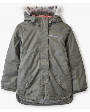 Куртка зеленый теплая Columbia