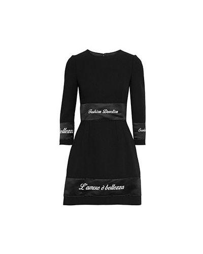 Платье - черное Dolce&gabbana