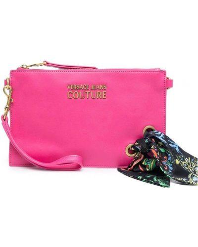 Kopertówka - różowa Versace Jeans Couture