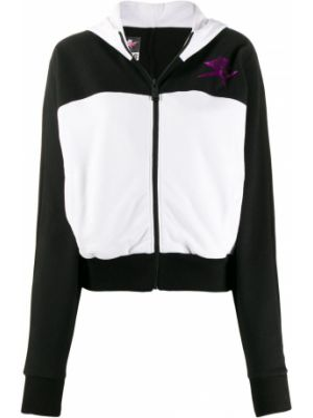 Куртка с капюшоном - белая Plein Sport