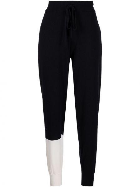 Шерстяные брюки - черные Monse