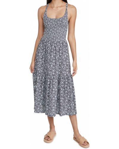 Текстильное платье миди Nation Ltd