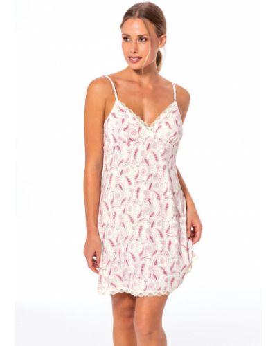 Пижама с рубашкой розовый Dorina