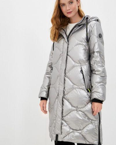 Серебряная зимняя куртка Betty Barclay