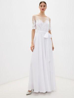 Вечернее платье - белое Seam