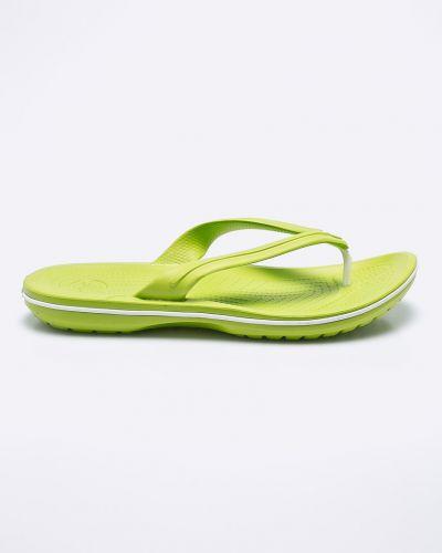 Зеленые сандалии Crocs