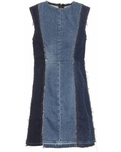Джинсовое платье с капюшоном Acne Studios