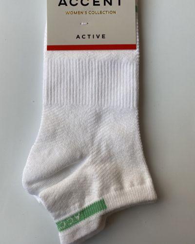 Носки из полиамида - белые Accent