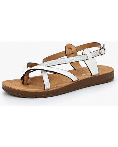 Белые сандалии Super Mode