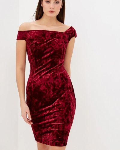 Вечернее платье бордовый красный Krismarin