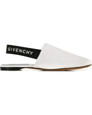 Muły skórzany francuski Givenchy