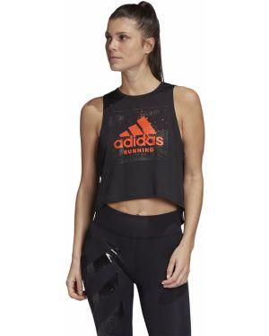 Crop top - czarna Adidas