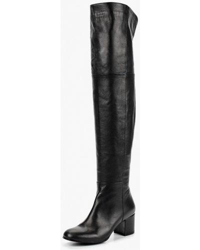 Ботфорты на каблуке кожаные Vitacci