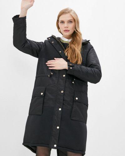 Черная утепленная куртка Twinset Milano