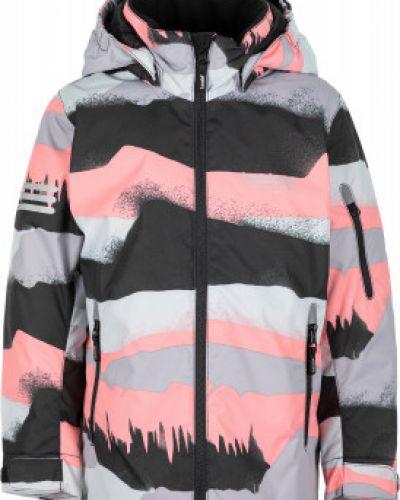 Утепленная розовая куртка на молнии Lassie