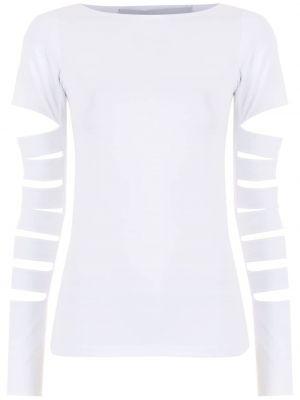 Хлопковая футболка - белая Gloria Coelho