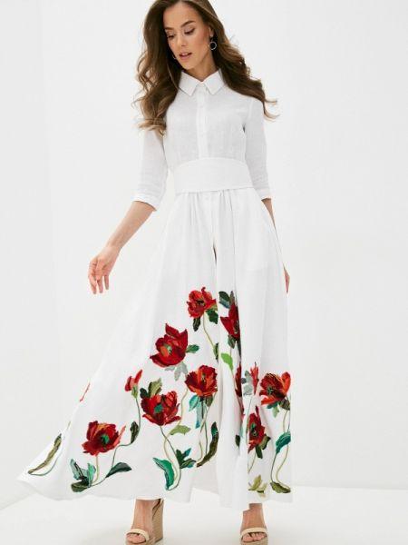 Белое платье Yukostyle