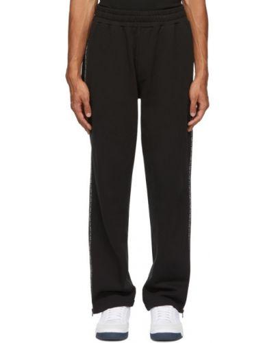 Bawełna bawełna czarny joggery z kieszeniami Mcq Alexander Mcqueen
