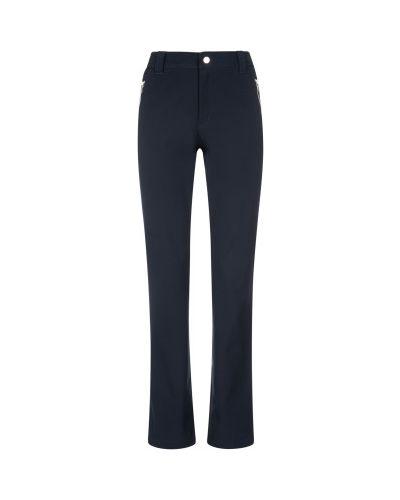 Зауженные флисовые синие спортивные брюки Luhta