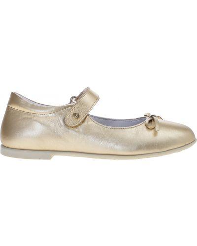 Туфли золотой Naturino