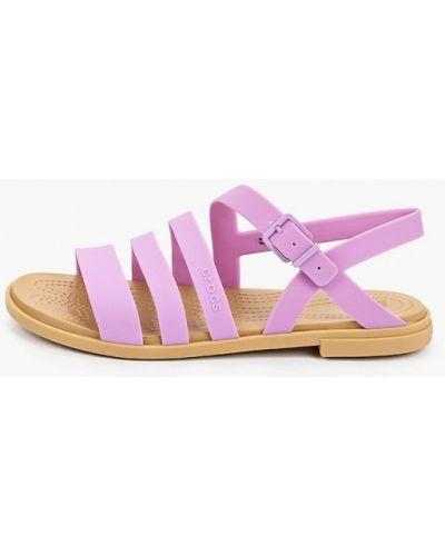 Фиолетовые спортивные сандалии Crocs