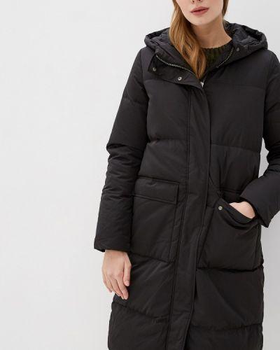 Зимняя куртка осенняя черная Selected Femme