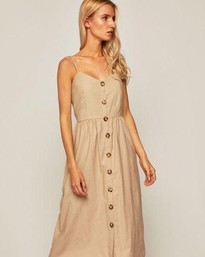 Платье в полоску из вискозы Medicine