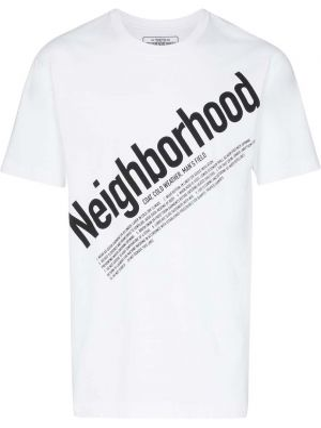 Koszula krótkie z krótkim rękawem z nadrukiem z kapturem Neighborhood