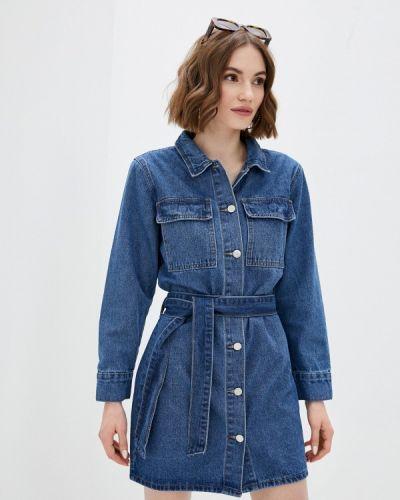 Синее джинсовое платье Tantra