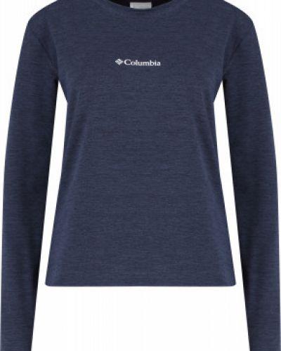 Синяя прямая футболка Columbia