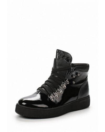Кожаные ботинки осенние Tervolina