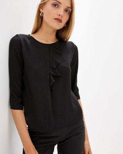 Блузка с длинным рукавом черная Liu Jo