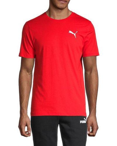 Ватная хлопковая футболка с короткими рукавами Puma