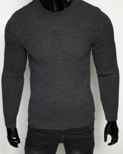 Шерстяной свитер - серый Figo
