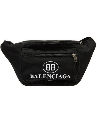 Поясная сумка текстильная Balenciaga