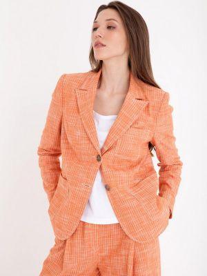 Оранжевый пиджак Gregory