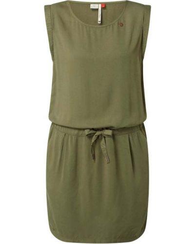 Zielona sukienka z wiskozy Ragwear