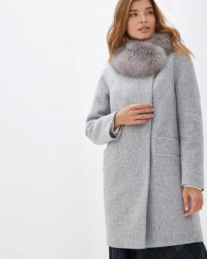 Пальто демисезонное серое Paradox