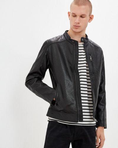Черная зимняя куртка Colin's