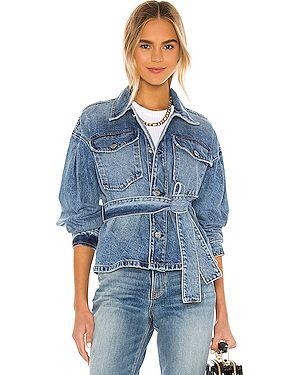 Джинсовая куртка на пуговицах с карманами Grlfrnd