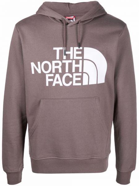 Bluza z nadrukiem z printem - fioletowa The North Face