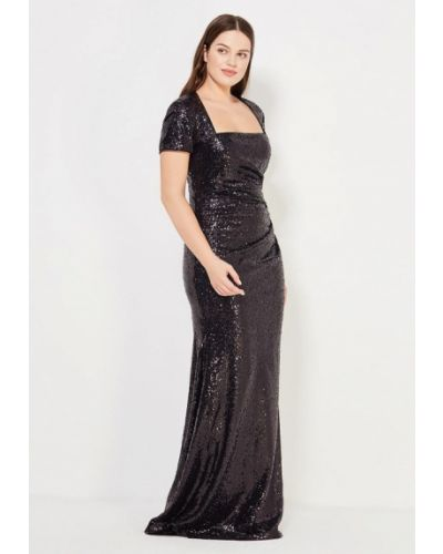 Вечернее платье - черное Goddiva Size Plus